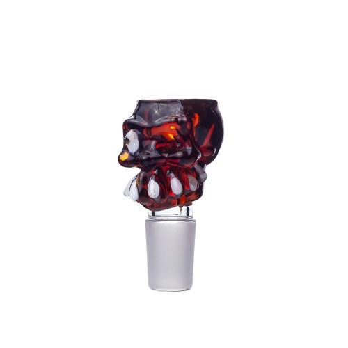 Колпак Glass Skull Mix Color 18.8 мм