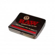 Машинка для самокруток RAW Roll Box Black Chrome King-Size 110 мм