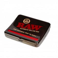 Машинка для самокруток RAW Roll Box Black Chrome 1¼ 79 мм