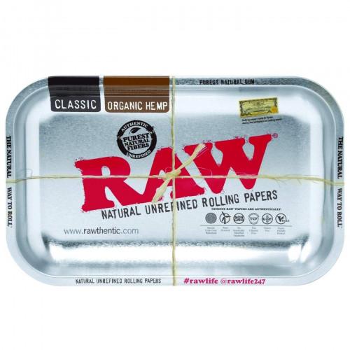 Поднос RAW Tray Silver Small 17.5 x 27.5 см
