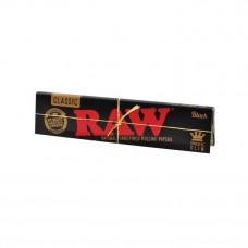 Бумажки RAW Black King Size Slim