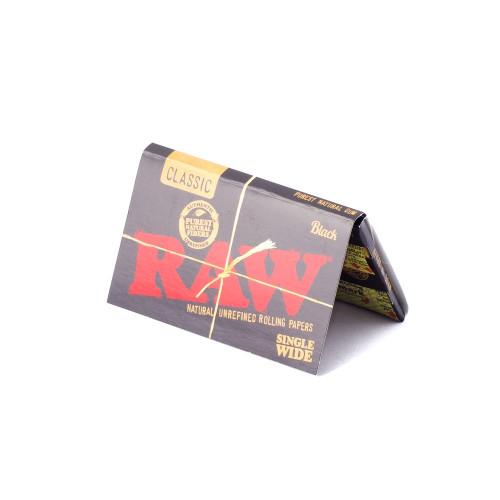 Бумажки RAW Black Single Wide