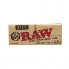 Бумажки RAW Classic Connoisseur 1¼ + фильтры