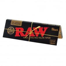 Бумажки RAW Black 1¼