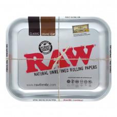 Поднос RAW Tray Silver Large 27.5 x 34 см