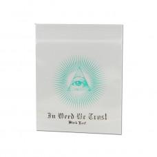 Пакеты Ziplock Black Leaf In Weed We Trust 35 x 35 мм