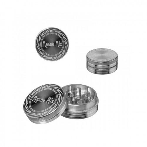 Гриндер Magno Mix Simple Silver 2/40 мм