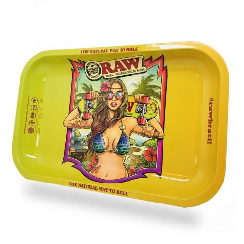 Поднос RAW Brazil 2 Girl Bikini 27.5 X 17.5 см