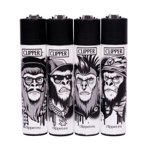 Зажигалка Clipper™ Monkeys
