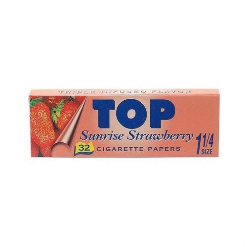 Бумажки Top Sunrise Strawberry 1¼