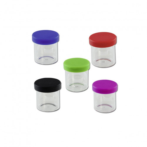Контейнер герметичный Silicone Lid Glass Jar 10 мл