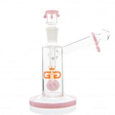 Бонг Grace Glass Drips Pink в кейсе