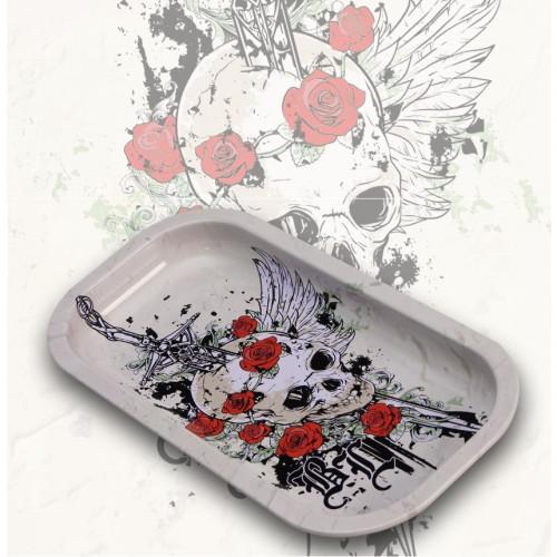 Поднос Black Leaf Skull & Roses 20.6 x 10.5 см