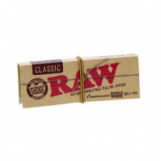 Бумажки RAW Classic Connoisseur Single Wide + фильтры